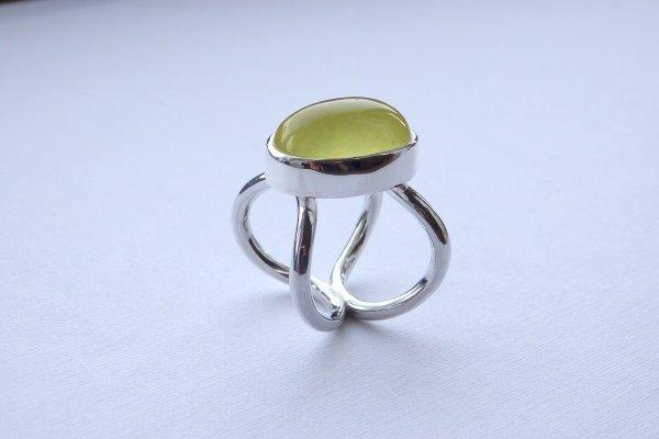 画像2: イエロープレナイトのリング